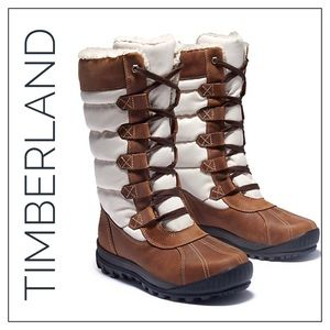 Timberland Mount Hayes Waterproof Shearling Boots